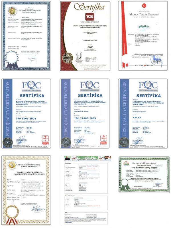 Sifa adresi belgelerimiz