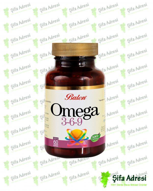 Omega 3-6-9 Vitamin Deposu Kapsüller