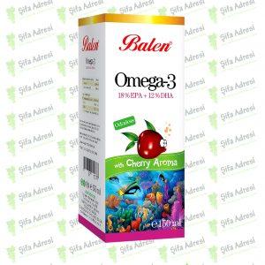 Kiraz Aromalı Omega 3 Balık Yağı
