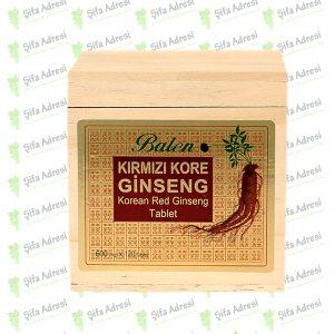 Kırmızı Kore Ginsengi