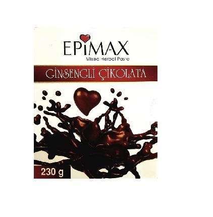 Epimax Ginsengli Çikolatalı Epimedyumlu Macun