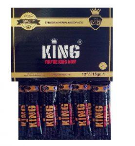 King Epimedyumlu Macun 12'li 20 Gram Stick